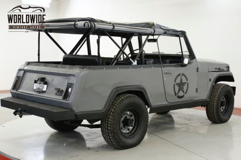 1970 Jeep COMMANDO JEEPSTER CUSTOM 4x4 LED NEW SOFT TOP LIFT | Denver, CO | Worldwide Vintage Autos in Denver, CO