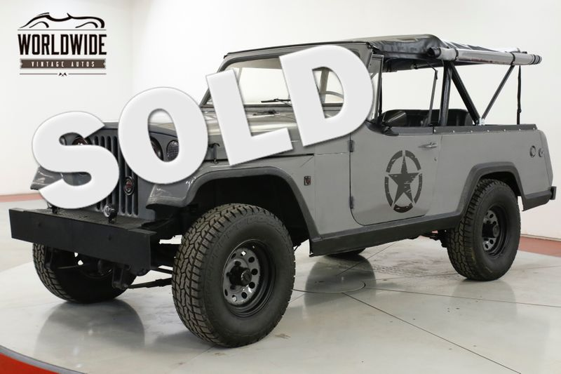 1970 Jeep COMMANDO JEEPSTER CUSTOM 4x4 LED NEW SOFT TOP LIFT | Denver, CO | Worldwide Vintage Autos