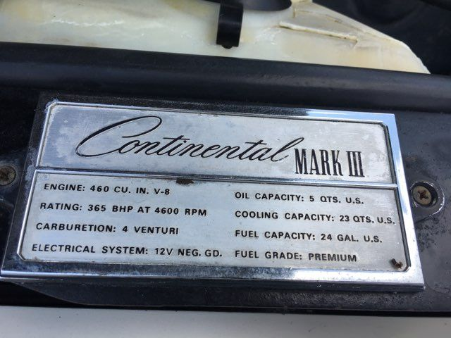 1970 Lincoln Continental Mark III Boerne, Texas 28