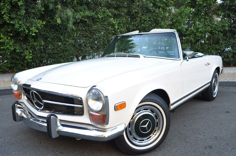 1970 Mercedes 280 SL Convertible, 2 -Tops, Air, Super Clean! in , California