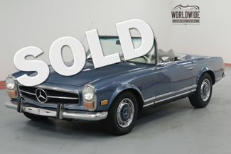 1970 Mercedes Benz 280SL RESTORED RARE 280SL $25K MOTOR REBUILD.   Denver, CO   Worldwide Vintage Autos in Denver CO