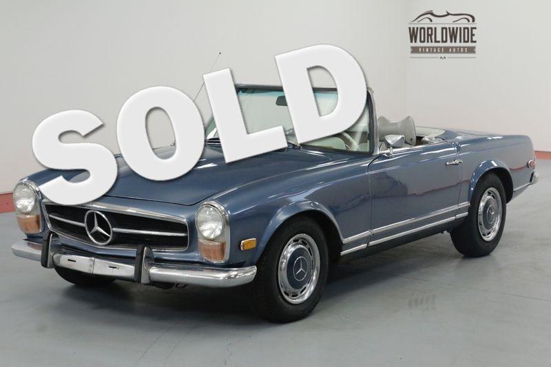 1970 Mercedes Benz 280SL RESTORED RARE 280SL $25K MOTOR REBUILD. | Denver, CO | Worldwide Vintage Autos