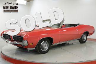 1970 Mercury COUGAR  XR7 CONVERTIBLE RESTORED 351 V8  | Denver, CO | Worldwide Vintage Autos in Denver CO