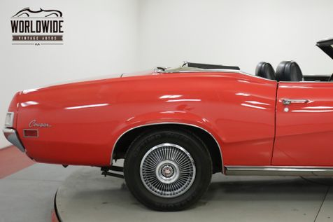 1970 Mercury COUGAR  XR7 CONVERTIBLE RESTORED 351 V8  | Denver, CO | Worldwide Vintage Autos in Denver, CO