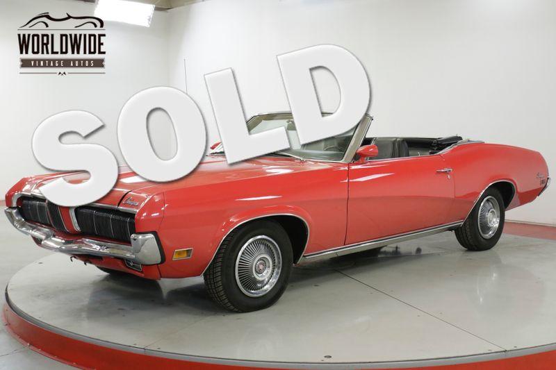 1970 Mercury COUGAR  XR7 CONVERTIBLE RESTORED 351 V8 $30K BOOK VALUE | Denver, CO | Worldwide Vintage Autos