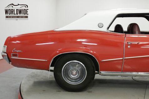 1970 Mercury COUGAR XR7 351 V8 AUTO PS PB AC 63k ORIGINAL MILES | Denver, CO | Worldwide Vintage Autos in Denver, CO