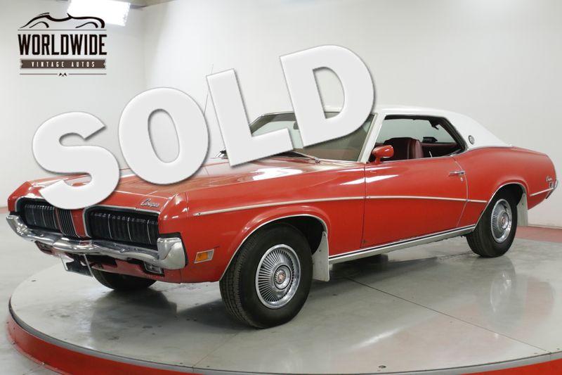 1970 Mercury COUGAR XR7 351 V8 AUTO PS PB AC 63k ORIGINAL MILES | Denver, CO | Worldwide Vintage Autos