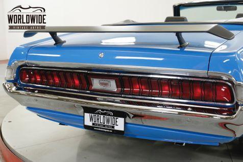 1970 Mercury COUGAR TRUE XR7. ELIMINATOR CLONE. 351 V8. WILLWOOD  | Denver, CO | Worldwide Vintage Autos in Denver, CO