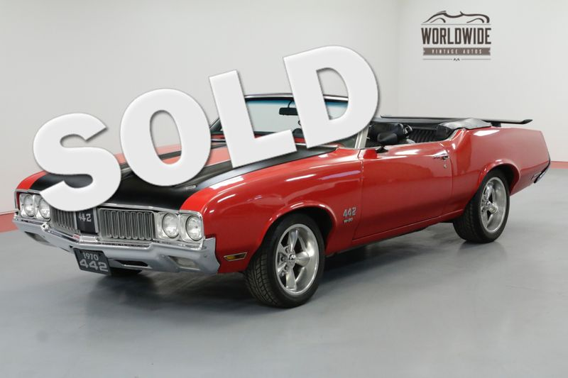 1970 Oldsmobile 442 W-30 CONVERTIBLE CLONE 455 V8 AUTO | Denver, CO | Worldwide Vintage Autos