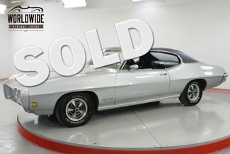 1970 Pontiac GTO NUMBERS MATCHING 455 HO FACTORY AC COLLECTOR  | Denver, CO | Worldwide Vintage Autos in Denver CO