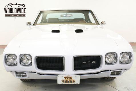 1970 Pontiac GTO FRAME-OFF RESTORED