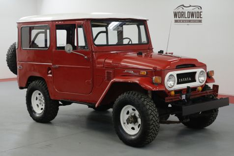 1970 Toyota LAND CRUISER FJ40. RESTORED. DRIVER. 4x4. CONVERTIBLE.  | Denver, CO | Worldwide Vintage Autos in Denver, CO