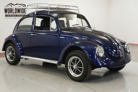 1970 Volkswagen BEETLE RESTORED REBUILT MOTOR NEW TIRES/WHEELS   | Denver, CO | Worldwide Vintage Autos in Denver, CO