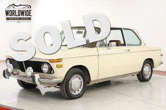 1971 BMW 2002 ORIGINAL COLLECTOR. 64K MILES. MANUAL. RARE | Denver, CO | Worldwide Vintage Autos in Denver CO