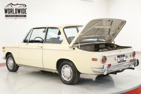 1971 BMW 2002 ORIGINAL COLLECTOR. 64K MILES. MANUAL. RARE | Denver, CO | Worldwide Vintage Autos in Denver, CO