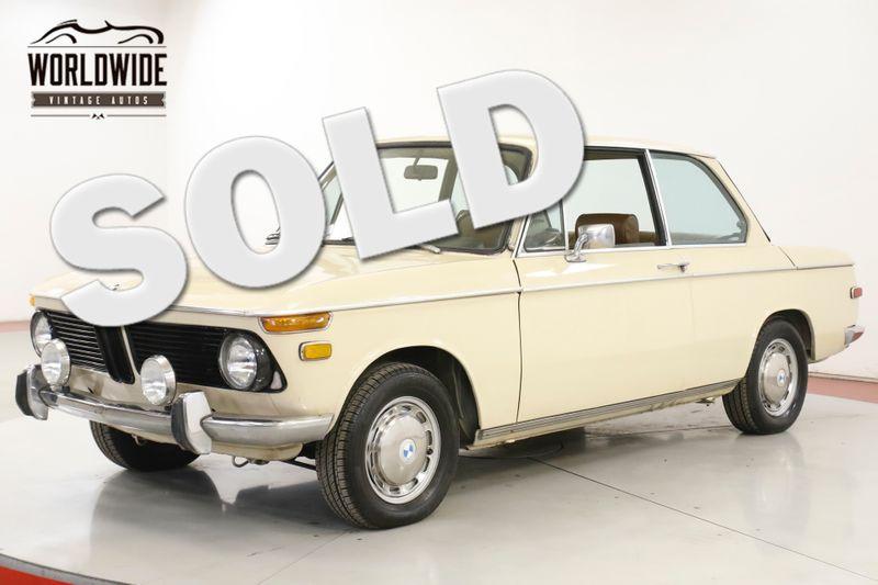1971 BMW 2002 ORIGINAL COLLECTOR. 64K MILES. MANUAL. RARE | Denver, CO | Worldwide Vintage Autos