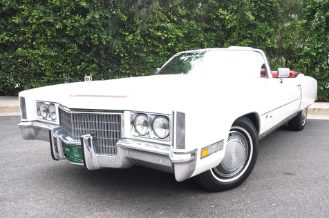 1971 Cadillac Eldorado Convertible Beautiful Original Survivor in , California