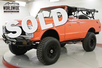 1971 Chevrolet BLAZER CUSTOM OFF ROAD BUILD 3/4 TON WINCH LIFT | Denver, CO | Worldwide Vintage Autos in Denver CO
