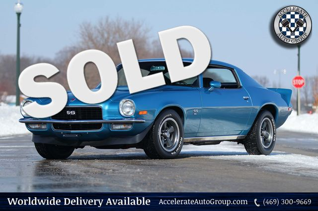 1971 Chevrolet Camaro SS REAL SS396 M22 4 SPEED MANUAL TRANS RESTORED NICE! in Rowlett