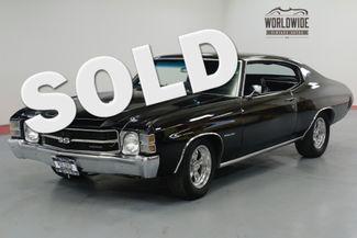 1971 Chevrolet CHEVELLE SS TRIBUTE. STUNNING BLACK. PS. PB. CONSOLE SHIFT. | Denver, CO | Worldwide Vintage Autos in Denver CO
