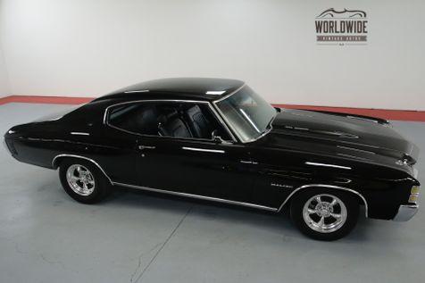 1971 Chevrolet CHEVELLE SS TRIBUTE. STUNNING BLACK. PS. PB. CONSOLE SHIFT.   Denver, CO   Worldwide Vintage Autos in Denver, CO
