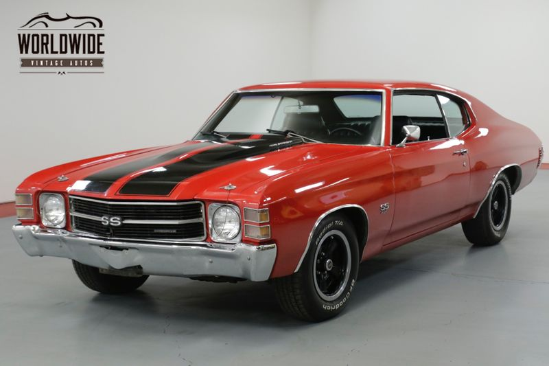1971 Chevrolet CHEVELLE SS. 4 SPEED. DISC BRAKES. PS. MUST SEE  | Denver, CO | Worldwide Vintage Autos