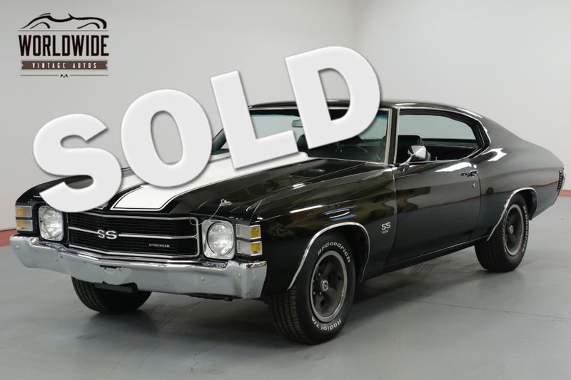 1971 Chevrolet CHEVELLE FRAME OFF ROTISSERIE RESTORATION! GM 454 V8  | Denver, CO | Worldwide Vintage Autos
