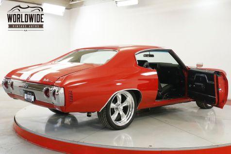 1971 Chevrolet CHEVELLE HIGH DOLLAR BUILD 402CI 4 SPEED AC PS PB  | Denver, CO | Worldwide Vintage Autos in Denver, CO