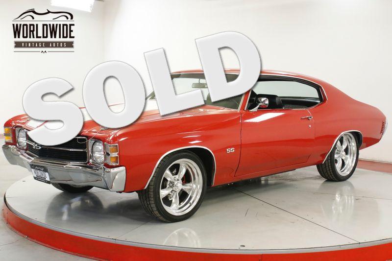 1971 Chevrolet CHEVELLE HIGH DOLLAR BUILD 402CI 4 SPEED AC PS PB  | Denver, CO | Worldwide Vintage Autos