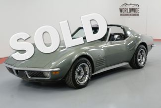 1971 Chevrolet CORVETTE 454 LS5 SPORT COUPE 4 SPEED MATCHING #S | Denver, CO | Worldwide Vintage Autos in Denver CO