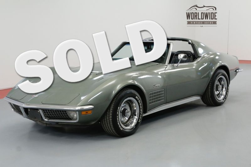 1971 Chevrolet CORVETTE 454 LS5 SPORT COUPE 4 SPEED MATCHING #S | Denver, CO | Worldwide Vintage Autos