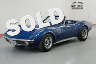 1971 Chevrolet CORVETTE RESTORED 4-SPEED PS AC 2 TOPS | Denver, CO | Worldwide Vintage Autos in Denver CO