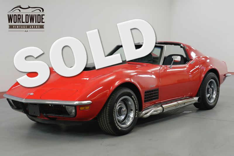 1971 Chevrolet CORVETTE RESTORED. WILWOOD. RIDETECH. EFI HIGH DOLLAR  | Denver, CO | Worldwide Vintage Autos