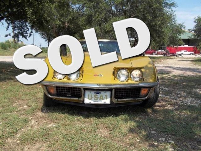 1971 Chevrolet Corvette Stingray Liberty Hill, Texas