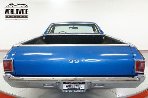 1971 Chevrolet EL CAMINO SS RECREATION 350V8 AUTO AC PS PB    Denver, CO   Worldwide Vintage Autos in Denver, CO