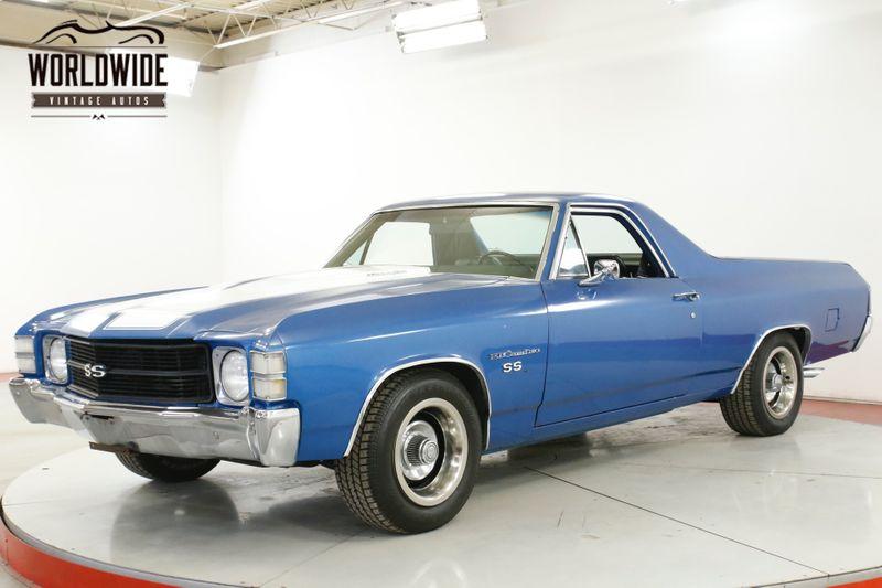 1971 Chevrolet EL CAMINO SS RECREATION 350V8 AUTO AC PS PB    Denver, CO   Worldwide Vintage Autos
