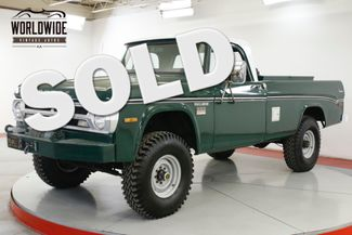 1971 Dodge POWER WAGON W200 RARE 4x4 COLLECTOR CA TRUCK WINCH V8 | Denver, CO | Worldwide Vintage Autos in Denver CO