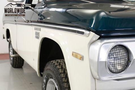 1971 Dodge POWER WAGON  RARE SHORT BED FACTORY 4X4 BIG BLOCK 383 V8 | Denver, CO | Worldwide Vintage Autos in Denver, CO