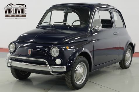 1971 Fiat 500L  RESTORED PREVIOUSLY IMMACULATE RARE SUNROOF  | Denver, CO | Worldwide Vintage Autos in Denver, CO