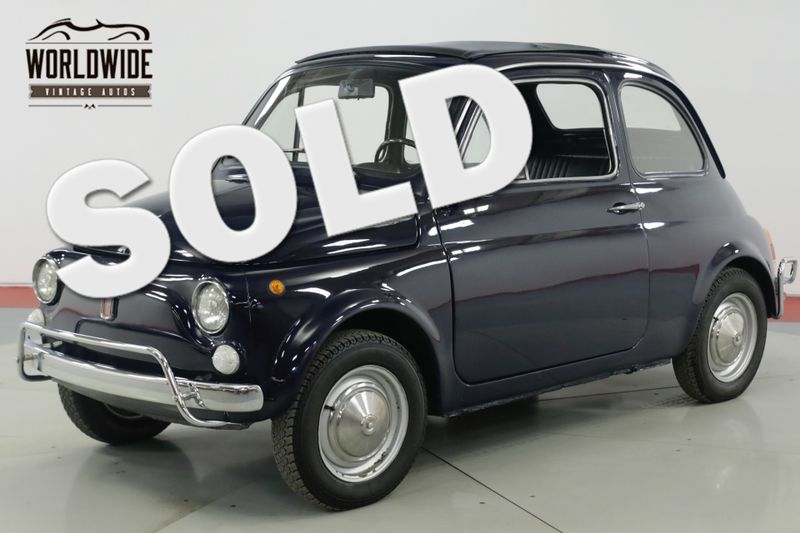 1971 Fiat 500L  RESTORED PREVIOUSLY IMMACULATE RARE SUNROOF  | Denver, CO | Worldwide Vintage Autos