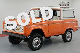 1971 Ford BRONCO RESTORED! UNCUT! 302 V8! 4X4. MUST SEE!  | Denver, CO | Worldwide Vintage Autos in Denver CO