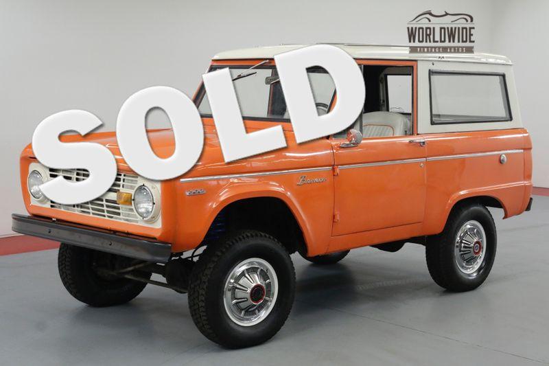 1971 Ford BRONCO RESTORED! UNCUT! 302 V8! 4X4. MUST SEE!  | Denver, CO | Worldwide Vintage Autos