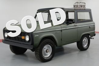 1971 Ford BRONCO RESTORED! UNCUT! FRESH PAINT! 302V8. MUST SEE | Denver, CO | Worldwide Vintage Autos in Denver CO