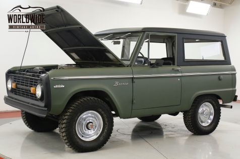 1971 Ford BRONCO UNCUT EARLY BRONCO 302V8 AUTO FULL HARD TOP  | Denver, CO | Worldwide Vintage Autos in Denver, CO