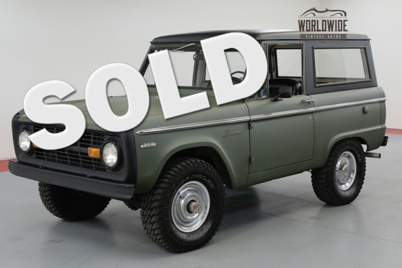 1971 Ford BRONCO RESTORED! UNCUT! FRESH PAINT! 302V8. MUST SEE | Denver, CO | Worldwide Vintage Autos