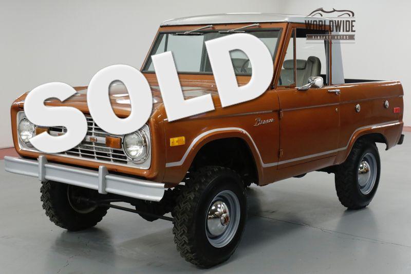 1971 Ford BRONCO UNCUT! FRAME OFF RESTORATION, PS, PB, 4X4.   | Denver, CO | Worldwide Vintage Autos
