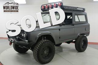 1971 Ford BRONCO  $200K+ BUILD SEMA COYOTE 5.0L AC UNCUT   Denver, CO   Worldwide Vintage Autos in Denver CO