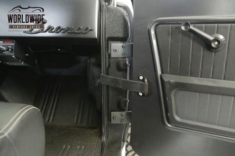 1971 Ford BRONCO  $200K+ BUILD SEMA COYOTE 5.0L AC UNCUT   Denver, CO   Worldwide Vintage Autos in Denver, CO