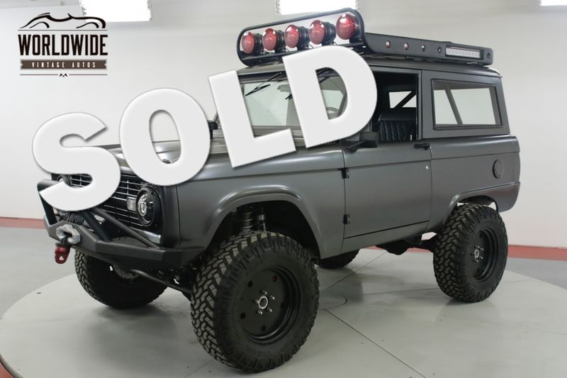 1971 Ford BRONCO  $200K+ BUILD SEMA COYOTE 5.0L AC UNCUT | Denver, CO | Worldwide Vintage Autos