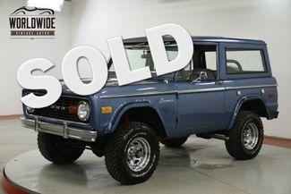 1971 Ford BRONCO 302 V8 MANUAL LIFTED 4X4 REMOVABLE TOP | Denver, CO | Worldwide Vintage Autos in Denver CO